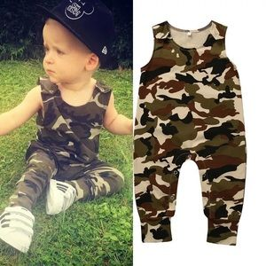 Other - Baby Toddler Camo Romper